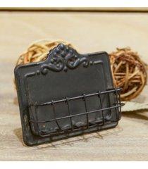 vip home & garden metal card holder