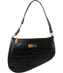 bebe tara saddle shoulder bag