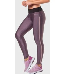 legging fila wellness rib shine furtacor feminina