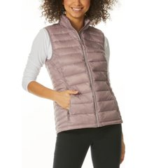 32 degrees packable down puffer vest, created for macy's