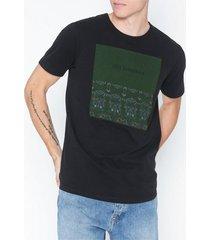 premium by jack & jones jprgray bla. tee ss crew neck t-shirts & linnen svart