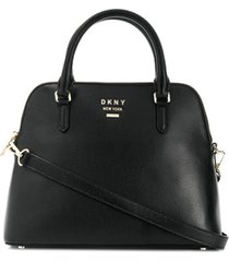 dkny large whitney dome bag - preto