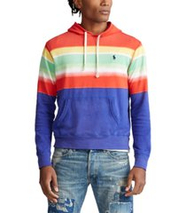 polo ralph lauren men's cotton spa terry hoodie