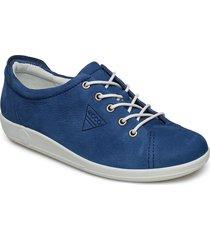 soft 2.0 låga sneakers blå ecco