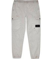 men's river island cargo pants, size 32 x 32 - grey