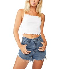 cotton on lace trim cami top