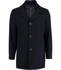 bos bright blue geke coat 19301ge02bo/290 navy