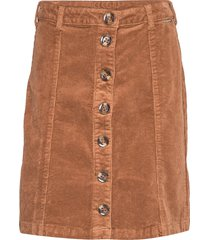 tria skirt kort kjol brun cream