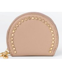 payton studded coin pouch - sand