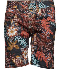 5b shorts palm print bermudashorts shorts multi/mönstrad please jeans