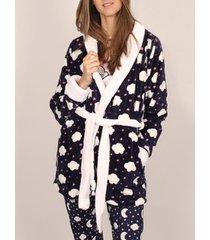 pyjama's / nachthemden admas love sky kamerjas