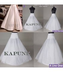 aline long net women formal petticoat wedding petticoat bridal hoop underskirt