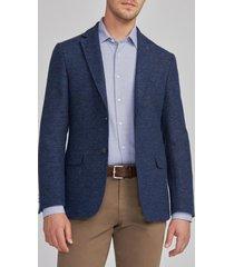 chaqueta casual europea azul trial