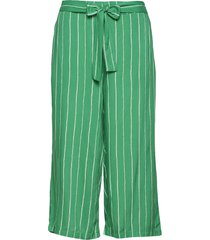 henrietta culotte pants casual byxor grön kaffe