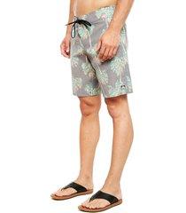 traje de baño reef gris - calce regular