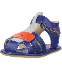 sandalia azul marcel