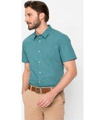 overhemd met korte mouwen, slim fit