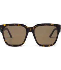 balenciaga balenciaga bb0056s havana sunglasses