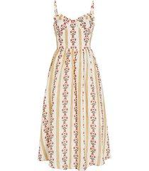 acacia bustier adjustable strap dress