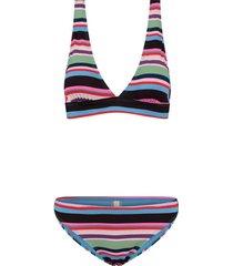 bikini stripe bobby blauw