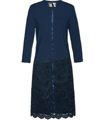 blazer lungo con pizzo premium (blu) - bpc selection premium