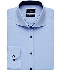 suitor light blue slim fit dress shirt