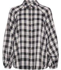 nubibi shirt långärmad skjorta svart nümph