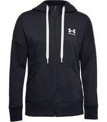trainingsjack under armour rival fleece full zip hoodie