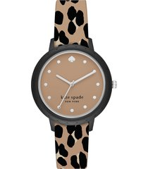 kate spade new york designer women's watches, morningside nylon women's watch