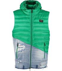 paul & shark body warmer jacket