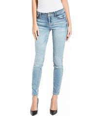 jeans low rise skinny denim guess