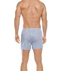 schiesser boxer wijd 2-pak lichtblauw