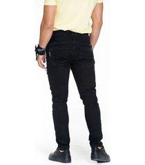 jean skinny black con rotos
