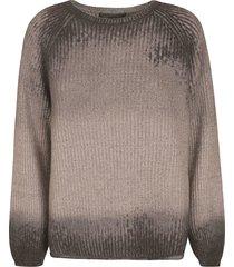 alberta ferretti vintage effect knit sweater