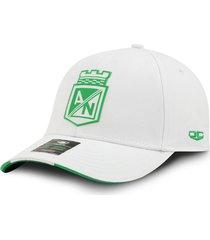 gorra atlético nacional oficial oc caps clásica blanca