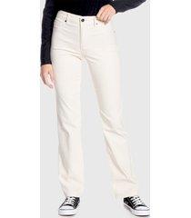 pantalón wados basico beige - calce ajustado