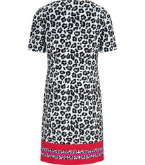 jerseyjurk met luipaardprint van uta raasch multicolour