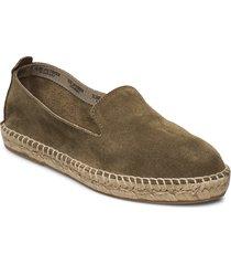 espadrille flat sandaletter expadrilles låga grön ilse jacobsen