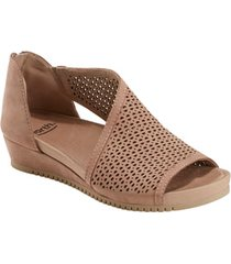 women's earth capricorn wedge sandal