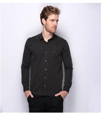 camisa social teodoro santorini algodão 60 fios masculina