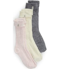 women's ugg 3-pack cozy sparkle socks
