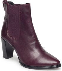 boots 7792 shoes boots ankle boots ankle boot - heel röd billi bi