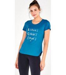 t-shirt alto giro skin fit frases inspiracionais 2111734 persian blue