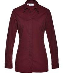 camicetta elasticizzata lunga (rosso) - bpc selection