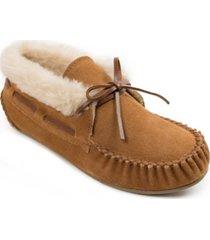 minnetonka chrissy bootie slipper women's shoes