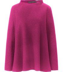 walk-shirt van 100% scheerwol met lange mouwen van elemente clemente roze