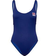 bfsw-lia swimsuit baddräkt badkläder blå diesel women