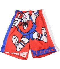 mitchell & ness denver nuggets men's big face shorts