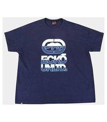 camiseta plus size ecko double color masculina