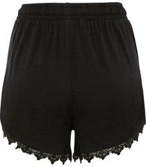 shorts di jersey (nero) - bodyflirt